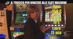 Malati di slot machine le iene